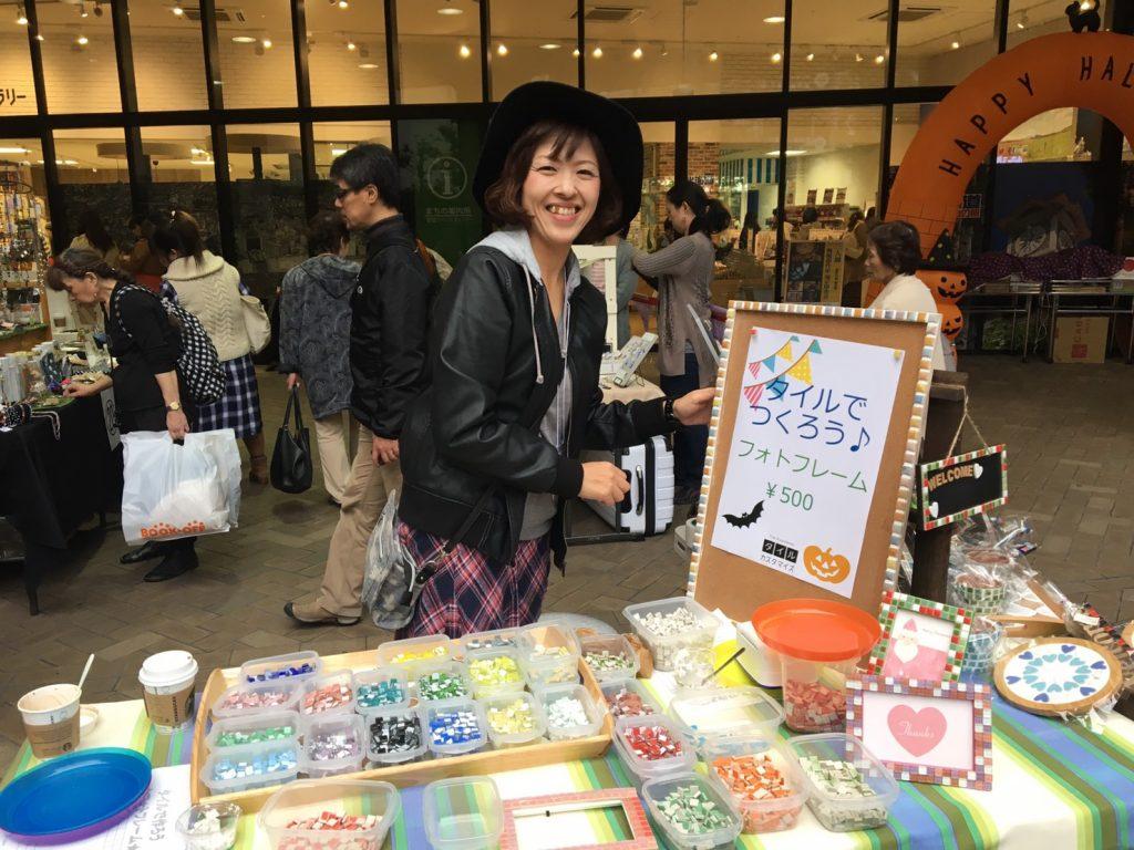 タイルワークショップ&雑貨販売レポート|手作り1dayショップ@ぽっぽ町田